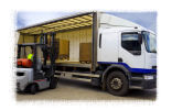 Pallet storage and deliveries taken